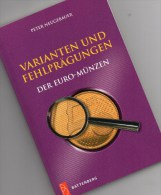 Fehlprägungen Varianten Euro-coins Catalogue 2009 New 30€ Abarten Verprägungen Kurs-/Gedenkmünzen Deutschland+Euroländer - Télécartes