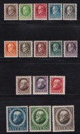 GERMANY, BAYERN, 1914, Hinged Unused Stamp(s) Ludwig III,  MI 94-109,  #16 150 - Bavaria