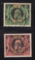 GERMANY, BAYERN, 1911,  Used Stamp(s) Luitpold  MI 92-93,  #16 023, - Bavaria