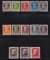 GERMANY, BAYERN, 1914,  Used Stamp(s) Ludwig III,  MI 94=109,  #16 024, 13 Values Only - Bavaria