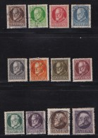 GERMANY, BAYERN, 1914,  Used Stamp(s) Ludwig III,  MI 94=109,  #16 044,   11 Values Only - Bavaria