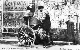 CPA Les Petits Métiers Parisiens Le Remouleur - Petits Métiers à Paris