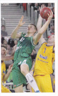 Slovenia Basketball Cards  Stickers - Nr. 128 Dino Murić  / Union Olimpija : Khimki - Vignettes Autocollantes