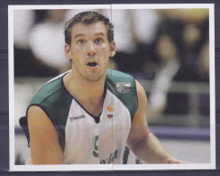Slovenia Basketball Cards  Stickers - Nr. 104-105 Beno Udrih - Adesivi