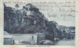 Italy 1920 Sorrento Veduta Del Mare Used Postcard - Postcards