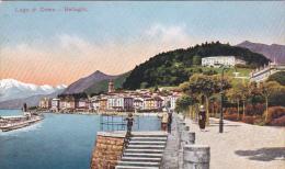 Italy Early Unused Postcard Lago Di Como Bellagio - Postcards