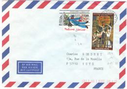ONU - NAZIONI UNITE - UNITED NATIONS - NATIONS UNIES - 1996 - Air Mail - Quatrième Conférence Mondiale Sur Les Femmes... - Cartas