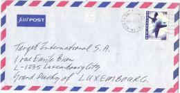 NUOVA ZELANDA - NEW ZEALAND - 1998 - FastPost - Air Mail - Performing Arts, Ballet - Viaggiata Da North Shore Per Lux... - Nuova Zelanda