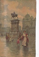 Italy Early Unused Postcard Venezia Monumento A Colleoni - Postcards