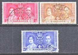 BARBADOS  190-2   (o) - Barbados (...-1966)
