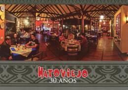 Lote PEP873, Colombia, Postal, Postcard, Medellin, Hato Viejo, 30 Años, Typical Restaurant - Colombia