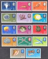 BARBADOS  267-80  *     MARINE SEA LIFE - Barbados (...-1966)