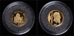 Gold Belgium 12,5 Euro 2007 Proof - 1993-...: Albert II