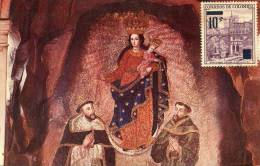 Lote PEP884, Colombia, Postal, Postcard, Tarjeta Maxima, Maximun Card, Santuario De Las Lajas, 9083, Sanctuary, Church - Colombia