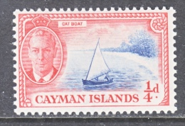CAYMAN ISLANDS   122    *     CAT BOAT - Cayman Islands