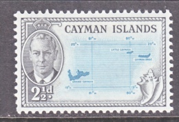 CAYMAN ISLANDS   127   *    MAP - Cayman Islands