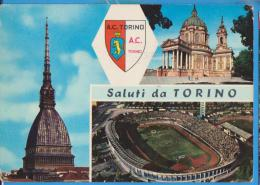 POSTCARD ITALY A.C.TORINO STADION  STADIUM  USED - Stadiums & Sporting Infrastructures
