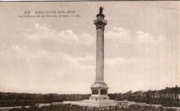 B03 / DEPT 62 CPA BOULOGNE SUR MER LA COLONNE DE LA GRANDE ARMEE NEUVE VOIR DOS - Boulogne Sur Mer