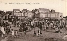 B03 / DEPT 62 CPA BOULOGNE SUR MER LA PLAGE ANIMEE  NEUVE VOIR DOS - Boulogne Sur Mer