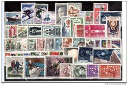 FRANCE - 1962 - Année Complète - Timbres N° 1325 à 1367 - Neufs ** - France