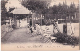 63. LA BOURBOULE. Le Tennis Au Parc Des Sports. 705 (1) - La Bourboule