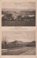 CPSM ZWEIBRUCKEN (Allemagne-Rhénanie Palatinat) - 2 Vues Casernes Militaires 22.1 R Furst Wilhelm Von Hohenzollern - Zweibruecken