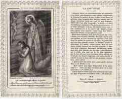 - PAP57797PAP - IMAGES PIEUSES - Canivet Dentelle - La Contrition - Très Bon état - THEMES - Images Religieuses