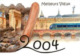 FLOIRAC . ASSOCIATION CARTOPHILIQUE DE L'ENTRE DEUX MERS . 17 EME SALON DE LA CARTE POSTALE . 2004 . - France
