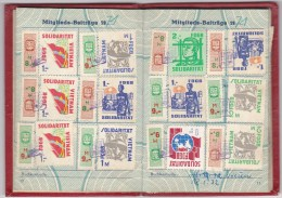 DDR Booklet FDGB Issued 1970 - [6] Oost-Duitsland