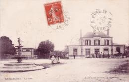 CPA - 27 - LE NEUBOURG - La Gare - Le Neubourg