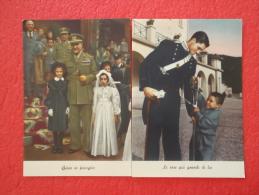 Collegi S. Mauro Torinese E Mornese O.N.A.O.M.A.C. Pro Militari Carabinieri 2 Cartoline Torino - Other Cities