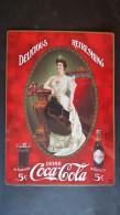 CARTEL CHAPA METALICA DECORATIVA PUBLICIDAD COCA COLA COKE DRINK COCA-COLA AÑOS 60/70 - TENGO MAS CHAPAS - Plaques émaillées & En Tôle