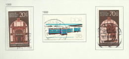 DDR N°2744, 2746, 2747 Et 2765, 2766, 2771  Cote 2.55 Euros - Used Stamps