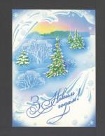 Belarus 2003. Postcard. Happy New Year - Belarus