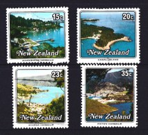 New Zealand 1979 Small Harbours Set Of 4 Used - - - New Zealand