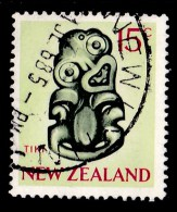 New Zealand 1967 Tiki 15c Used - - New Zealand