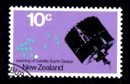 New Zealand 1971 Satellite Earth Station 10c Used - - New Zealand