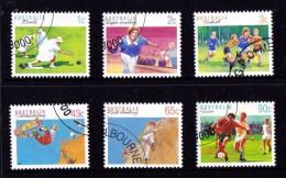 Australia 1989- 1991 Sports Selection Used - 1980-89 Elizabeth II