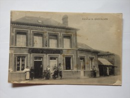 """Carrefour De Quevillon. """"Au Vieux Chaseurs P. Mirey"""". - Non Classés"""