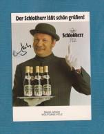 Wolfgang Völz -  (deutscher Schauspieler - Verstorben  ) - Persönlich Signiert - Autographes