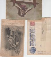 Vino E Uve  LOTTO Di Otto Cartoline Piccolo Formato - - Old Books