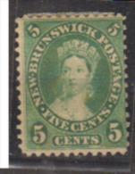 NOUVEAU BRUNSWICK  1860     N°   6        COTE    22 € 00            ( Y 462 ) - Unused Stamps