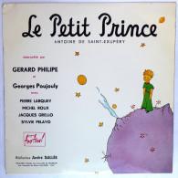 Disque Vinyle 33T 25 Cm LE PETIT PRINCE Antoine De Saint-Exupéry (1) - FESTIVAL FLD 22 1954 Gerard Philipe - Disques & CD