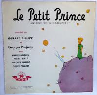 Disque Vinyle 33T 25 Cm LE PETIT PRINCE Antoine De Saint-Exupéry (2) - FESTIVAL FLD 22 M 1954 Gérard Philipe - Disques & CD