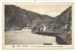 CPA - Chine - China - SWI YUAN - In Het Ravijnbezulden Palakai - De Door Regen Gezwollen Bergvloed - Nels Scheut   // - Chine