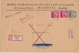 ALLEMAGNE 1940 LR DE MULHAUSEN - Occupation 1938-45
