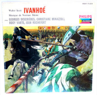 Disque Vinyle 33T 25 Cm Walter Scott IVANHOE Georges Descrières - PHILIPS 76225 195? - Disques & CD