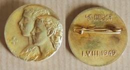 FORMATION - 1949 Ancien Insigne (broche) De L'institut LE REPUIS GRANSON De Formation SUISSE - Organizations