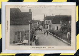 GRANDES-CHAPELLES. - . GRANDE-RUE - France