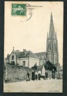 CPA - MONTAIGU - Rue Du Presbytère, Très Animé - Montaigu
